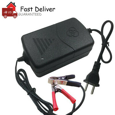 Car Battery Charger Maintainer Auto 12V Trickle RV for Truck Motorcycle ATV