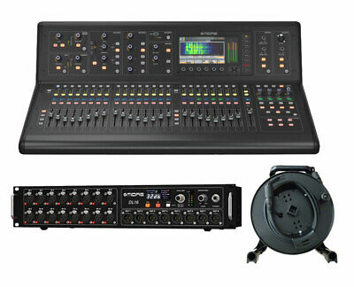 Midas M32 Live 40-Input Digital Studio Mixer + DL16 Stage Box + 150' Cat5 Cable
