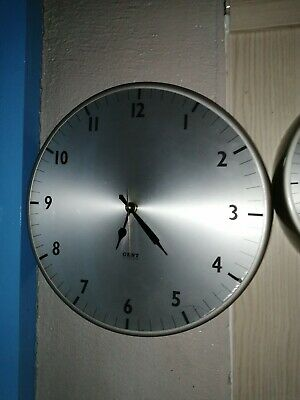 Large Gents electric Clock with new working battery movement