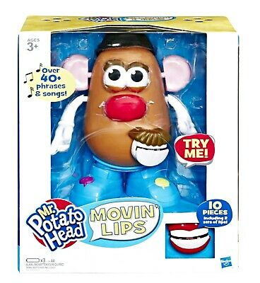 Toy story Mr.Potato Head Movin' Lips Electronic Interactive Talking Toy Gift Box