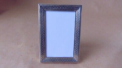 Beautiful Vintage Dutch 934 Sterling Silver Small Photo Frame 1978
