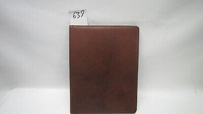 A4 Brown Real Leather room information menu (style 639) or A4 picture frame