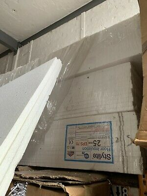 Job lot 30 x EXPANDED POLYSTYRENE FOAM PACKING SHEETS - Size: 2400 x 1200 x 25mm