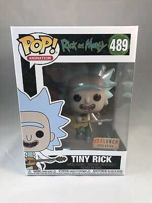 Funko Pop Rick and Morty TINY RICK #489 Vinyl Figure - Box Lunch Exclusive