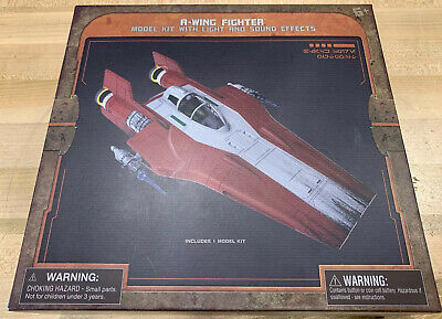 Star Wars Disney Parks Exclusive A-Wing Fighter Model Kit W/ Lights & Sound 2019