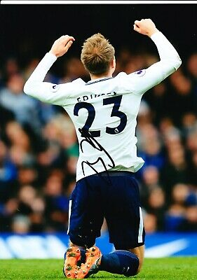 Christian Eriksen Signed 12X8 Photo SPURS Tottenham Hotspur AFTAL COA (1472)
