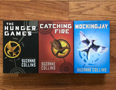 THE HUNGER GAMES Trilogy Complete Set 1-3 Suzanne Collins Lot 3 Hardcovers