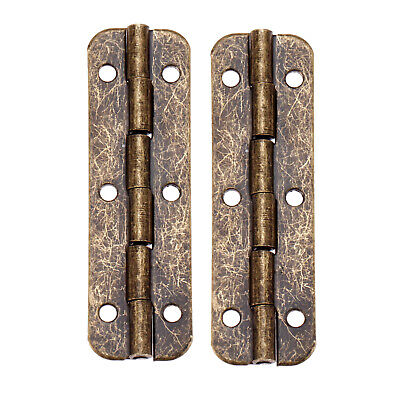 UK STOCK 2/10x Long Hinge Vintage 51*16mm Jewelry Box Bronze Tone Decor Hardware