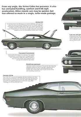 1970 Ford Torino Cobra 429 Ram Air Article - Must See !!