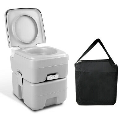 20L Outdoor Portable Toilet Camping Potty Caravan Travel Camp Boating @TOP