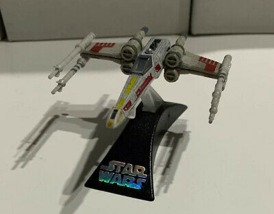 Star Wars Titanium Series Die Cast Luke Skywalkers RED FIVE X-WING W/Stand Loose
