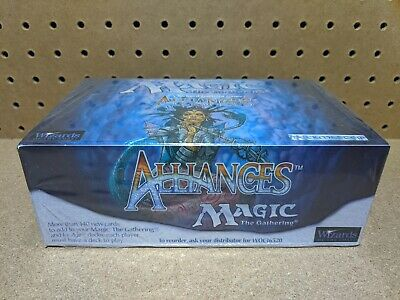 Magic The Gathering MTG - Alliances - Booster Box 45 Packs - English Sealed