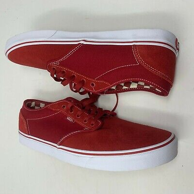 Vans Atwood Check Liner Chili Pepper VN0A327LQ1J Men's Size 11 | eBay