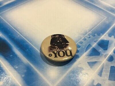 Star Wars Collectible Lapel Pin Button Badge - Darth Vader Empire Needs You