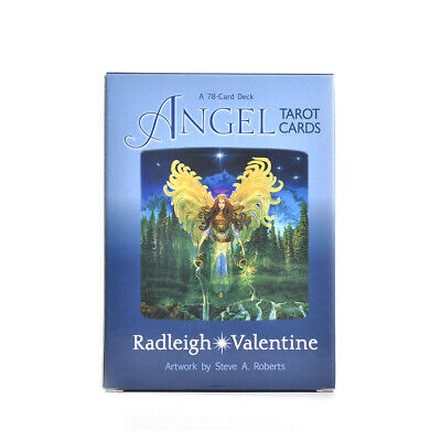 78pcs Angel Tarot Card Deck Mysterious Divination Personal Board Game English