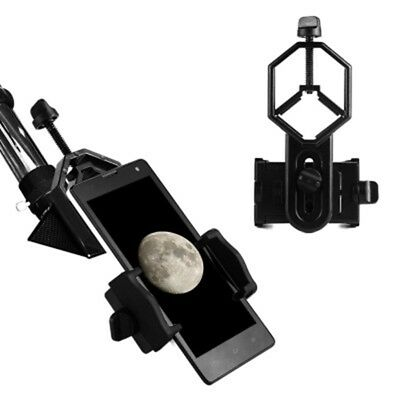 Telescope Cell Phone Mount Adapter Eyepiece 25mm-48mm Photo Clip Practical New