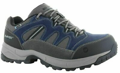 Mens Hi-Tec Bandera Lite Low Waterproof Hiking Walking Trainers Sizes 7 to 15
