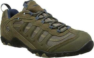 Mens Hi-Tec Penrith Low Waterproof Hiking Trek Walking Trainers Sizes 7 to 12