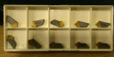 10x Seco Carbide Part Off Inserts 150.10-3N-14  CP600
