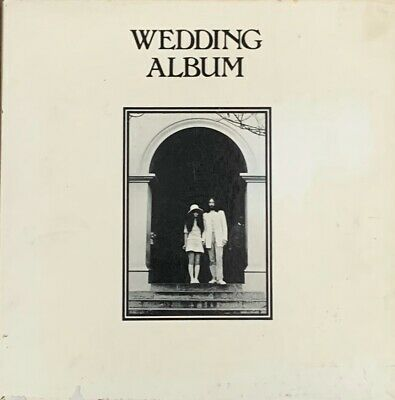 JOHN LENNON/OKO ONO Wedding Album ~ Original 1969 UK vinyl LP BOX SET + extras