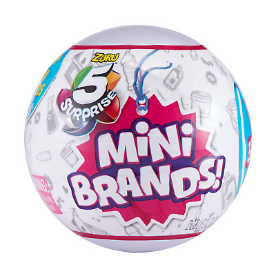 5 Surprise! Mini Brands - 1 Ball - Made By Zuru! 100% Real Authentic - New 20