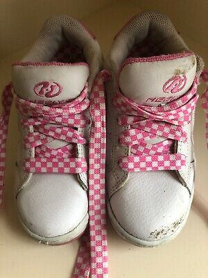 Heelys Wheeled Shoes Size 1 Youth Children's Girls Pink