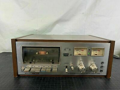 Vintage Pioneer CT-F6262 Stereo Cassette Deck Working