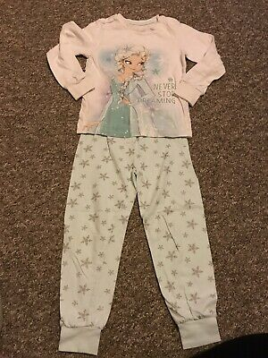Disney Frozen Pyjamas Size 4-5 Years