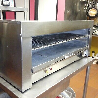 "Electric 36"" Commercial Cheese Melter Used In Good Working Condition Heavy Duty"