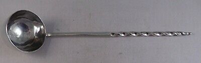 Superb Geo 111 Antique Solid Silver Toddy Ladle London 1812