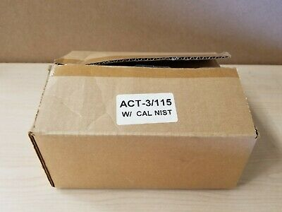 New Monarch Digital Tachometer Panel Meter ACT-3 115VAC