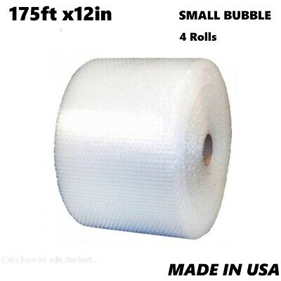 "Zackson's 3/16""  Small Bubble Cushioning Wrap 700ft x12"" Perforated Every 12"""