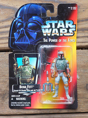Boba Fett The Power Of The Force KENNER sealed on card Star Wars
