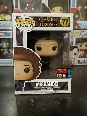 Funko Pop! Game of Thrones Missandei #77 2019 NYCC Exclusive WITH PROTECTOR!