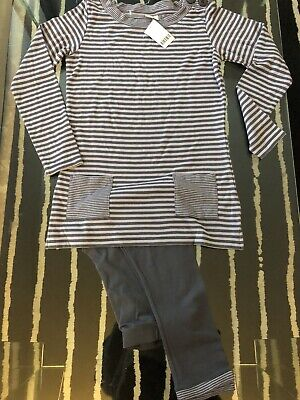 BNWT GIRLS NEXT DRESS & LEGGINGS SET AGE 12 Years