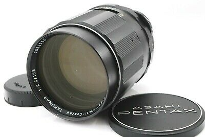 【Exc++++】6 Elements PENTAX SMC TAKUMAR 135mm f2.5 M42 Lens from Japan 809