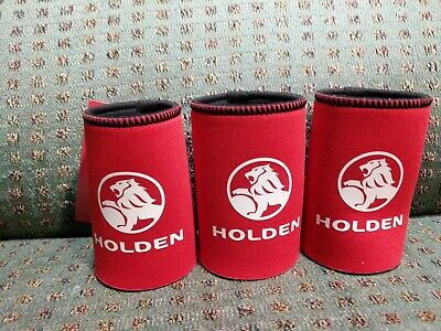 3 Holden Neoprene Can Stubby Coolers Official Merchandise - Commodore Monaro