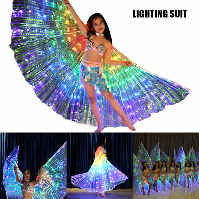 Fairy Wings Costume/LED Butterfly Wings Costume Pretend Play Girls Birthday Gift