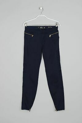 ZARA WOMAN Dark Denim Legging-Jeans D 34 dunkelblau Jeggings Skinny eng