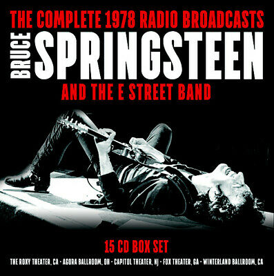 Bruce Springsteen - Complete 1978 Radio Broadcasts 15CD BOX SET SSCDBOX10