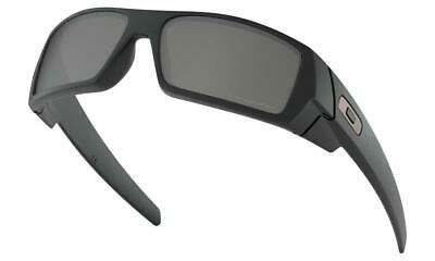 Oakley GASCAN Sunglasses Matte Black - Black Iridium Polarised Lens 9014-12-856