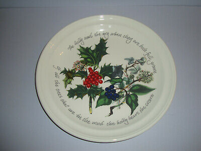 Portmeirion - The Holly & The Ivy - Dinner Plate - Unused (several available)