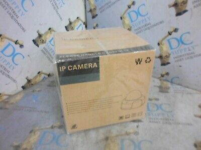 "Dahua Dome 6""Oah 7-5/8"" Overall Diameter Ip Camera Lens Cover * Sealed * Nib"