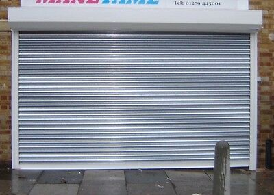 HIGH SECURITY ELECTRIC GALVANISED STEEL ROLLER SHUTTERS - Made to Measure