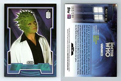 Doctor Who 2015 Blue Parallel Base Card #127 Craig Owens 199