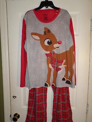 $35 Jammies Rudolph the Red Nose Reindeer Pajamas  Size XL Women's  Christmas