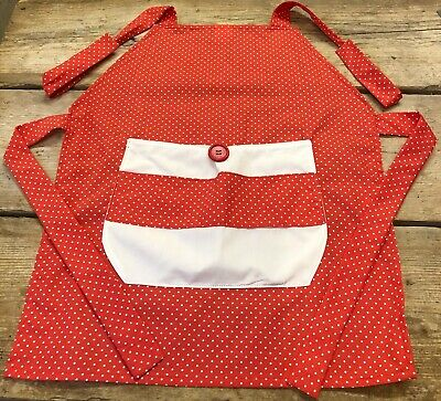 Girls Cotton Apron
