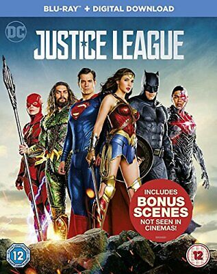 Justice League [Blu-ray + Digital Download] [2017] By Fabian Wagner,Ben Affle.