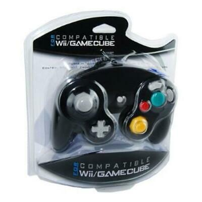 CONTROLLER FOR NINTENDO GAMECUBE GAME SYSTEM - Wii COMPATIBLE BRAND NEW BLACK