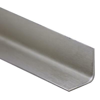 Stainless steel angle folded V2A Edge protection Corner trim 2 145 x 145